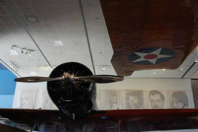Photograph - Wall Of Great Aviators by Kenny Glover