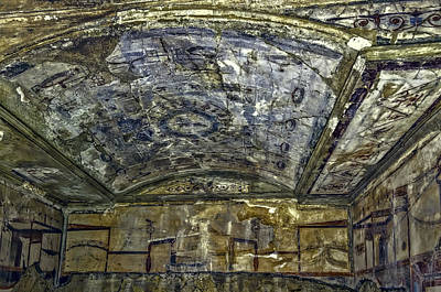 Photograph - Ceiling And Wall Paintings by Maria Coulson