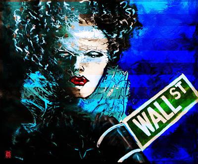 H.r. Giger Digital Art - Wall St Memories  by Jakub DK