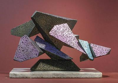 Sculpture - Wall Street Debacle by Richard Arfsten