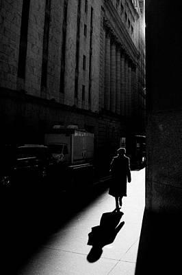 Photograph - Wall Street In New York City by Ilker Goksen