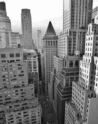 Photograph - Wall Street by John Wartman
