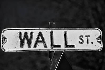 Wall Street Art Print by Karol Livote
