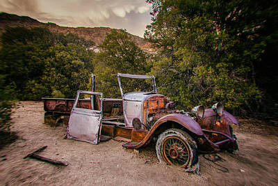 Truck Photograph - Wall Street Mine Pickup by Peter Tellone