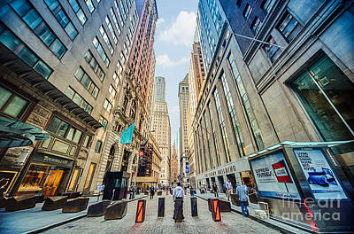 Photograph - Wall Street by Ray Warren