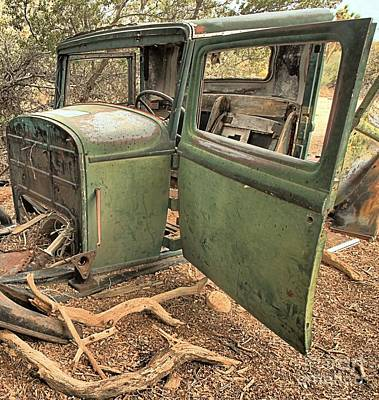 Mining Truck Photograph - Wall Street Remnants by Adam Jewell