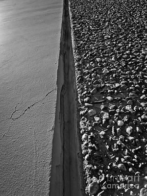 Photograph - Wall Texture Upper Version by Fei Alexander