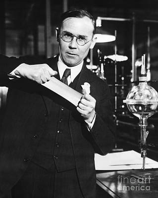 Manic Depression Photograph - Wallace Carothers, Us Chemist by Hagley Archive