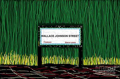 Wallace Johnson Street Original by Mudiama Kammoh