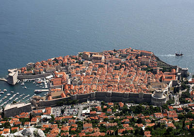 Photograph - Walled City Of Dubrovnik by David Nicholls