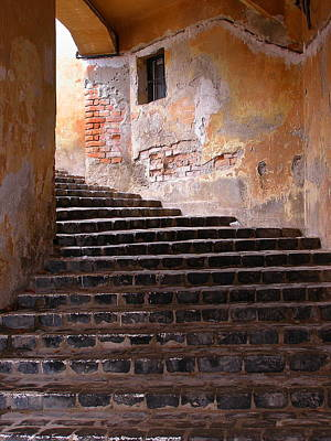 Photograph - Walled City Passage by Tamyra Crossley