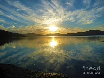 Photograph - Wallis Lake Sunset by Sandro Rossi
