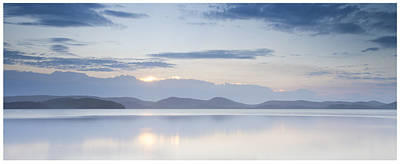 Wallis Lake Sunset Art Print by Steve Caldwell