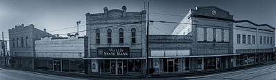 Photograph - Wallis State Bank by David Morefield