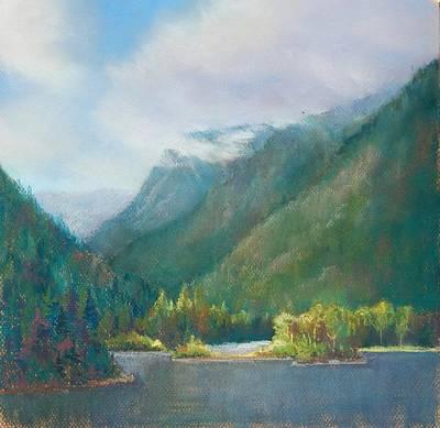 Pastel - Wallola Lake Or by Marlene Kingman