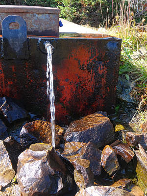 Photograph - Wallowa Mountain Spring by Jacqueline  DiAnne Wasson