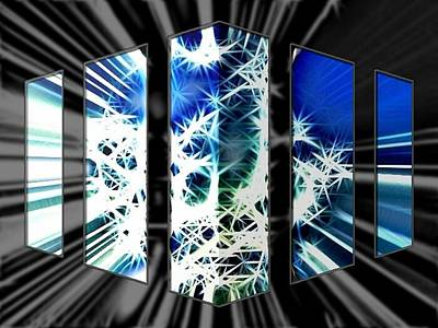 Etc. Digital Art - Wallpaper Design by HollyWood Creation By linda zanini