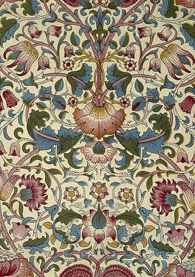 Tapestries - Textiles Digital Art - Wallpaper Design by William Morris