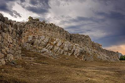 Walls Of Ancient Tiryns Art Print