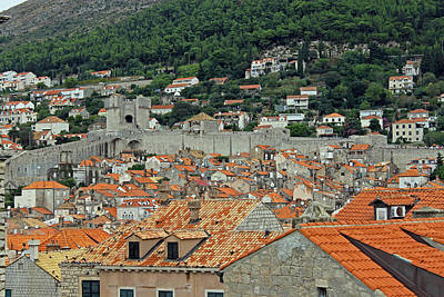 Photograph - Walls Of Dubrovnik by Tony Murtagh