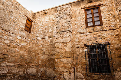 Photograph - Walls Of The Alamo 3 by Melinda Ledsome