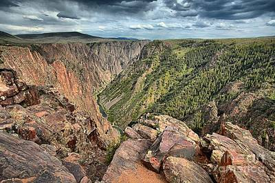 Photograph - Walls Of The Black Canyon by Adam Jewell