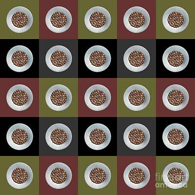 Walnut 5x5 Collage 1 Art Print