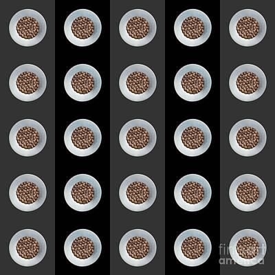 Walnut 5x5 Collage 3 Art Print