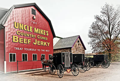 Amish Photograph - Walnut Creek Amish Store by Marcia Colelli