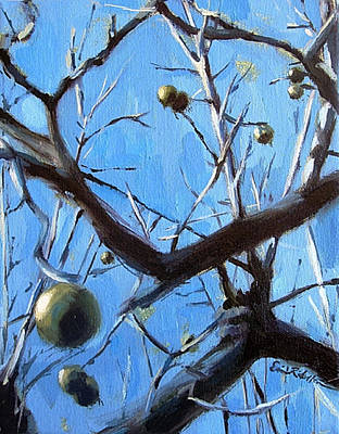 Painting - Walnut Minuet by Erin Rickelton