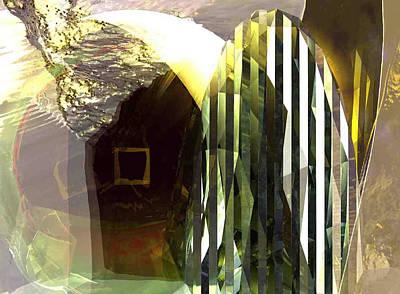 Digital Art - Walnut River Flood #1_p by Stephen Donoho