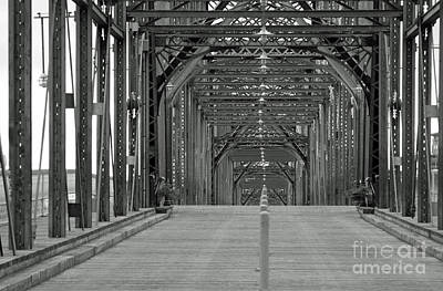 Art Print featuring the photograph Walnut Street Bridge by Geraldine DeBoer
