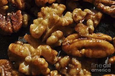 Photograph - Walnuts by Kathy Flood