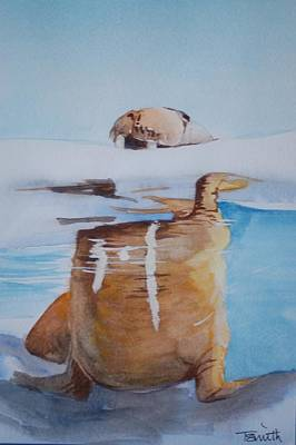 Painting - Walrus by Teresa Smith