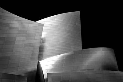 City Scenes Royalty-Free and Rights-Managed Images - Walt Disney Concert Hall 1 by Az Jackson
