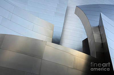 Photograph - Walt Disney Concert Hall 1 by Bob Christopher