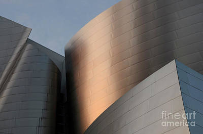 Photograph - Walt Disney Concert Hall 15 by Bob Christopher