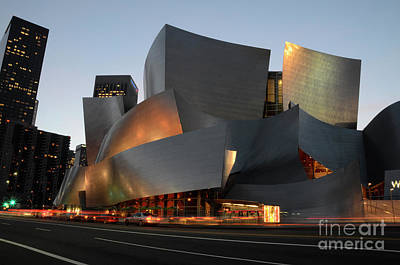 Photograph - Walt Disney Concert Hall 21 by Bob Christopher