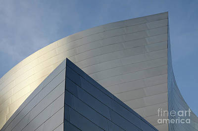 Photograph - Walt Disney Concert Hall 3 by Bob Christopher