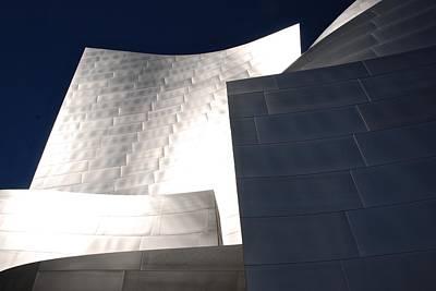 Photograph - Walt Disney Concert Hall Details by Eric Tressler