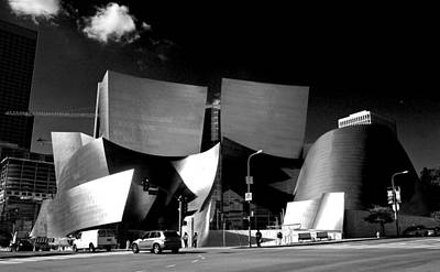Photograph - Walt Disney Concert Hall by Eric Tressler