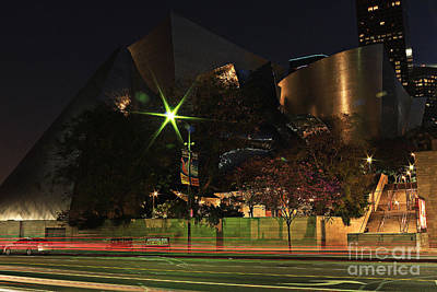 Photograph - Walt Disney Concert Hall  by Kevin Ashley