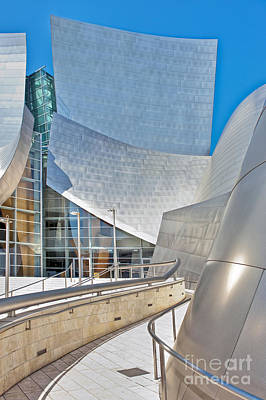 Photograph - Walt Disney Concert Hall Los Angeles Ca 2 by David Zanzinger