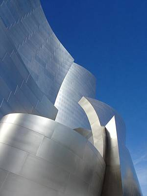 Photograph - Walt Disney Concert Hall by Natalya Karavay