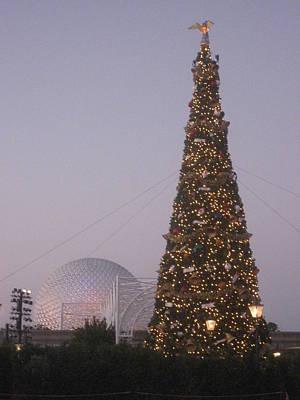 Disney Photograph - Walt Disney World Resort - Epcot - 121231 by DC Photographer