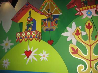 Walt Disney World Resort - Magic Kingdom - 1212109 Art Print by DC Photographer