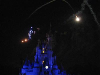 Disney Photograph - Walt Disney World Resort - Magic Kingdom - 121211 by DC Photographer