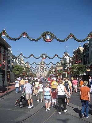 Walt Disney World Resort - Magic Kingdom - 1212128 Print by DC Photographer