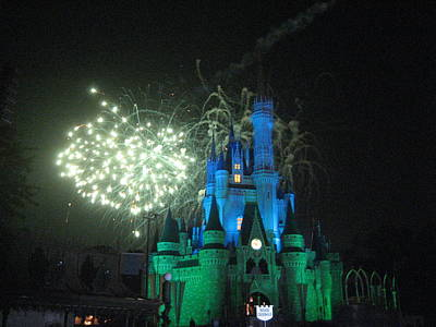Disney Photograph - Walt Disney World Resort - Magic Kingdom - 121217 by DC Photographer