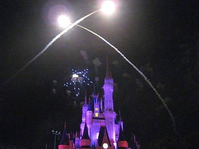 Walt Disney World Resort - Magic Kingdom - 121223 Art Print by DC Photographer